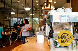 Vancouver, Canadaで勤務していたカフェ
