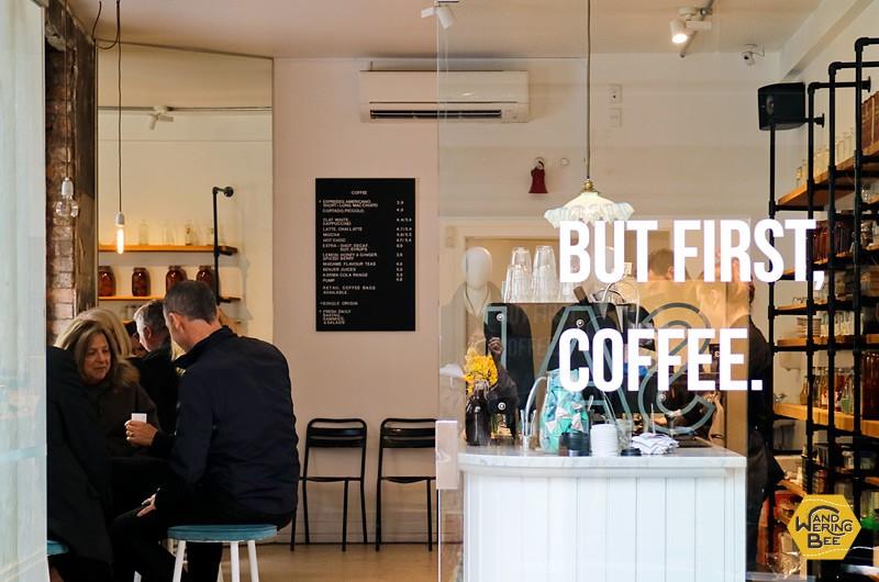 まずはコーヒー飲んで、じっくり構えていきましょう