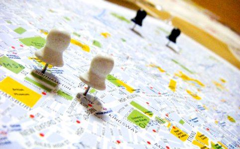 ロンドン時代の私のお供、ロンドン・マップ