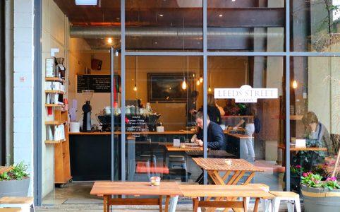 ウェリントンCBD内には、隠れ家的カフェが沢山存在します