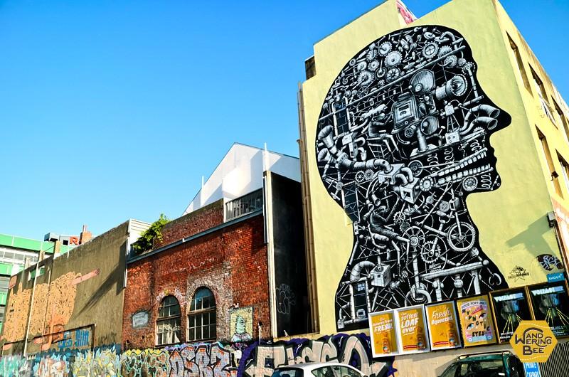 ウェリントンではストリートアート鑑賞も楽しめる