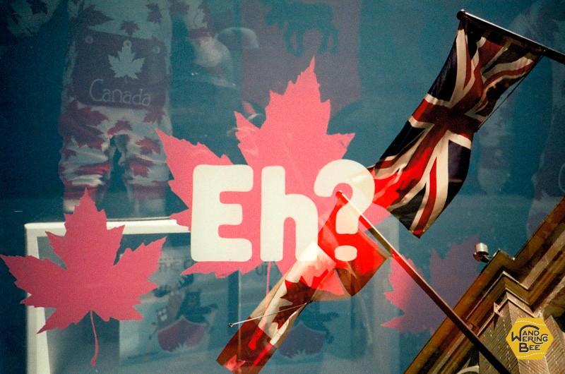 カナダ人は無意識のうちに文末になにかと「Eh?」を付けて話します