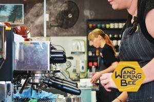 ニュージーランドのカフェでフォトシューティング
