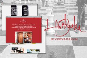 海外での仕事と軌跡を記録したポートフォリオ'Hivebyaka'ができました。