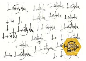 手描きロゴの試行錯誤の軌跡