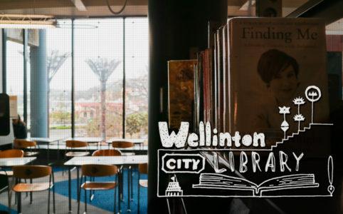 学生とノマドは迷わずここへ!私がウェリントン私立図書館に入り浸る理由