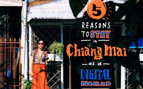 なぜ私はチェンマイに来たのか?+ノマドが滞在してみるべき5つの理由