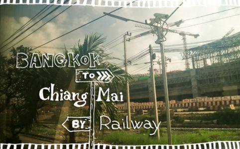 【タイ鉄道】バンコクからチェンマイまで8時間、タイの田園風景を満喫してみた