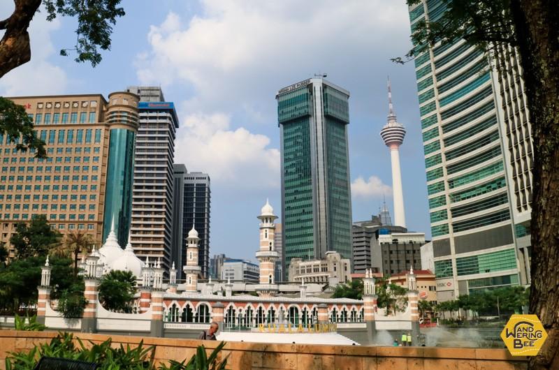 東南アジアの経済発展の象徴とも言えるクアラルンプール