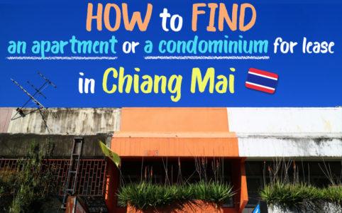 【チェンマイでアパート探し】長期滞在なら部屋を借りよう!基礎知識のまとめ