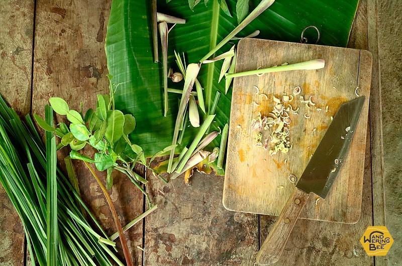 タイ料理に使うハーブやスパイスの使い方を丁寧に説明してくれます