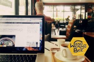 Jang Kub Coffeeの内装はちょっとしたレストランみたい