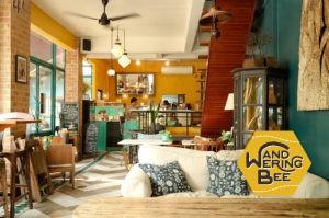 旧市街の中心地にあるお洒落カフェ My Secret Cafe In Town