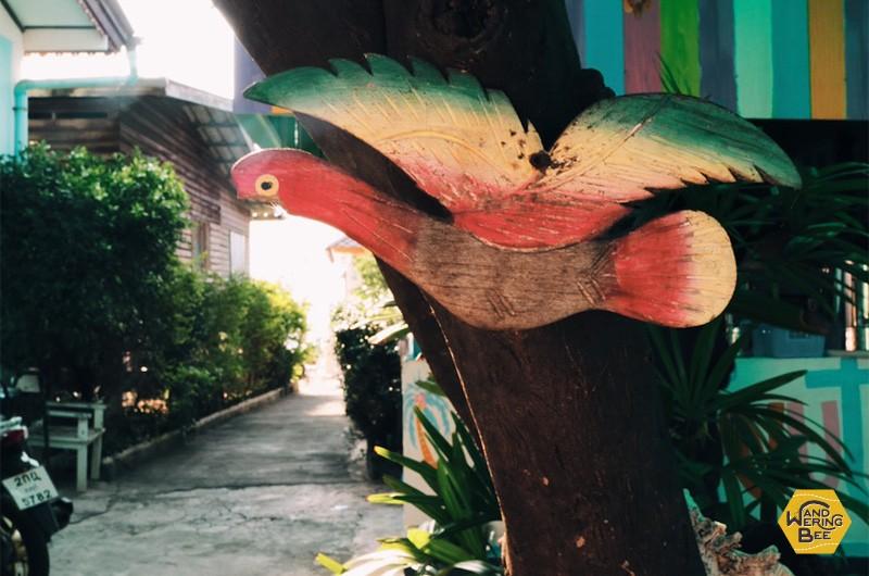Baan Coconut at Koh Larnは家族経営のホステル