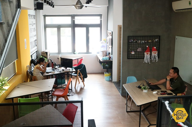 A new coworking space called 'Enouvo Space'