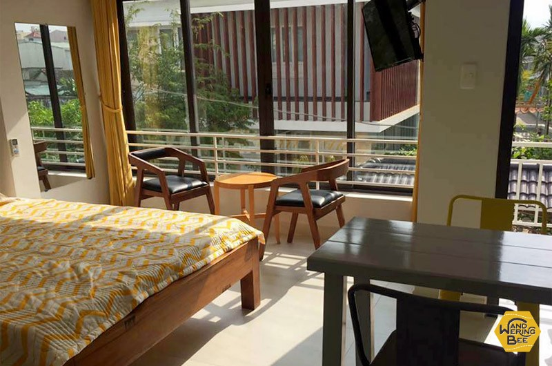 Small studio apartment with own kitchen and bathroom is around 270USD/30,000JPY per month.