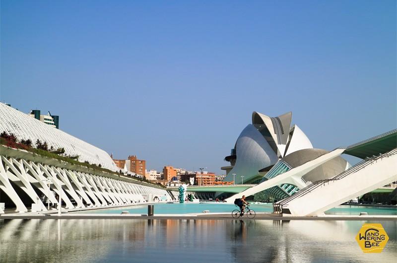 芸術科学館の近未来を想起させる建築デザインは一見の価値あり!