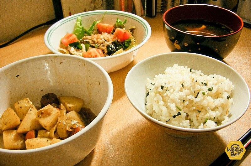 海外で作る和食のお味はより染みるもの