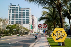 高級ホテルが立ち並ぶミーケ・ビーチ周辺
