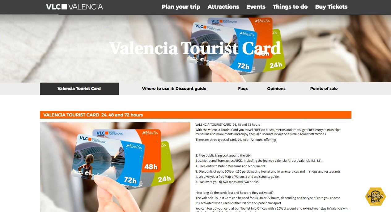 旅行の際には便利なTourist Cardを利用してみてください