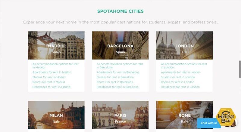 ヨーロッパ、一部アジアの主要都市でサービスを展開中