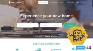 Spotahomeウェブサイトは見やすいUI設計