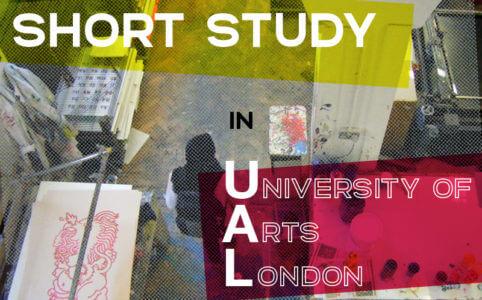 【ロンドン芸大ショートコース】海外でキャリアアップ・短期専門留学ならUALへどうぞ