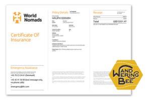 World Nomads保障書