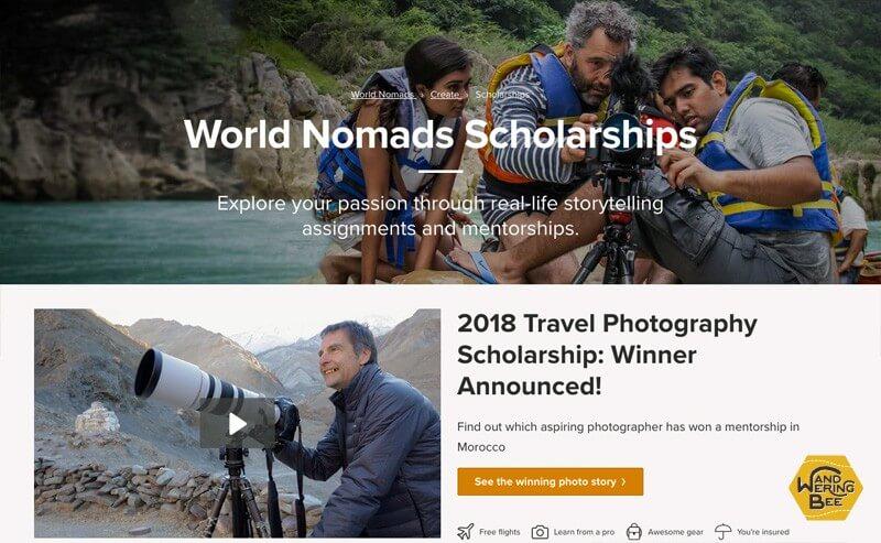 World Nomads奨学金制度