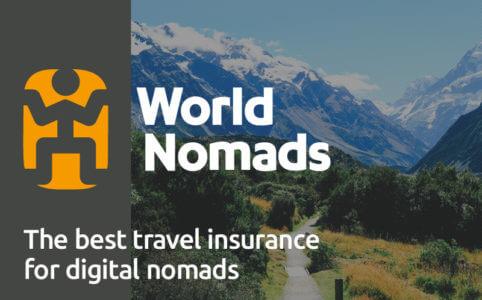 【World Nomads】海外ノマド保険の定番・ワールドノマドの特徴を解説