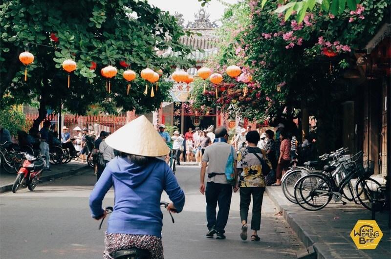 情緒にあふれるホイアン旧市街の情景