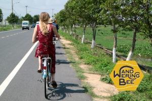 自転車でホイアン市内〜郊外を移動!