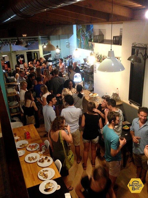 スペイン・バレンシアでのノマドパーティの様子