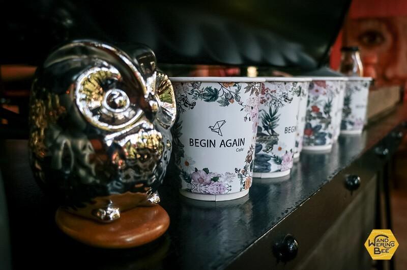 モダンな装飾品が特徴のBEGIN AGAIN