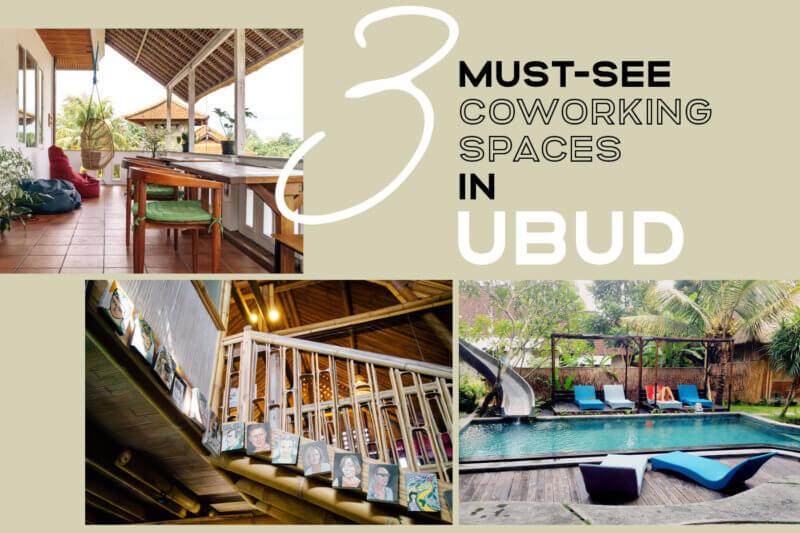 バリ島ウブドのコワーキングスペース3拠点を紹介!田んぼの中でのノマド生活