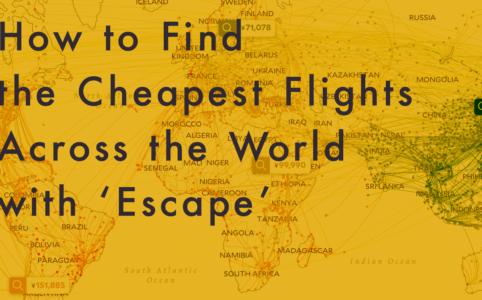 2019年最新の格安航空券検索サイト【Escape】がスゴイ件