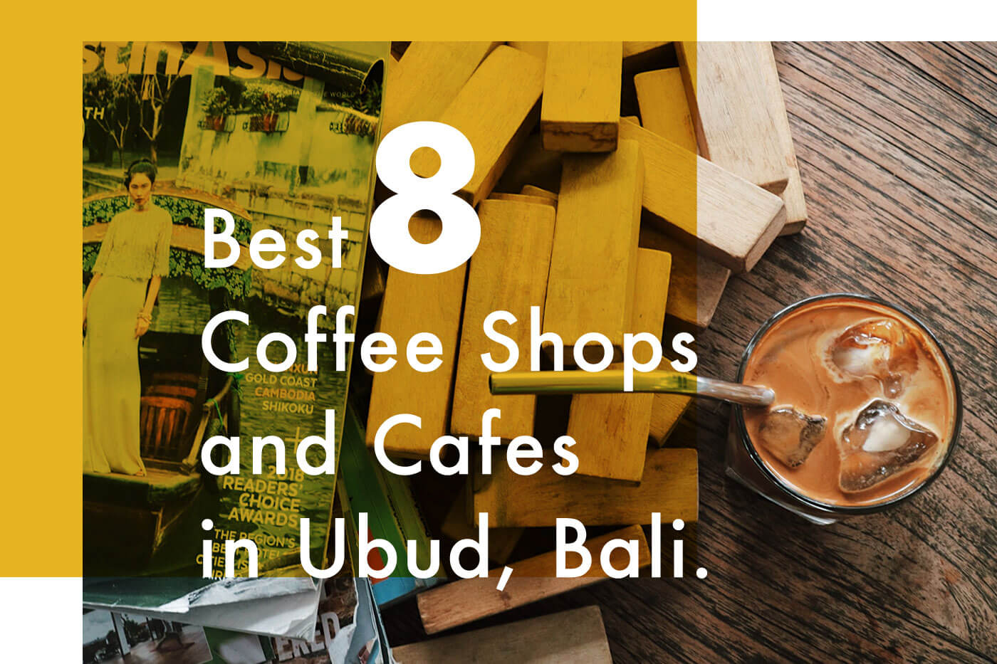 【ノマドワークも可能】バリ島ウブドのオススメカフェ8店を紹介します