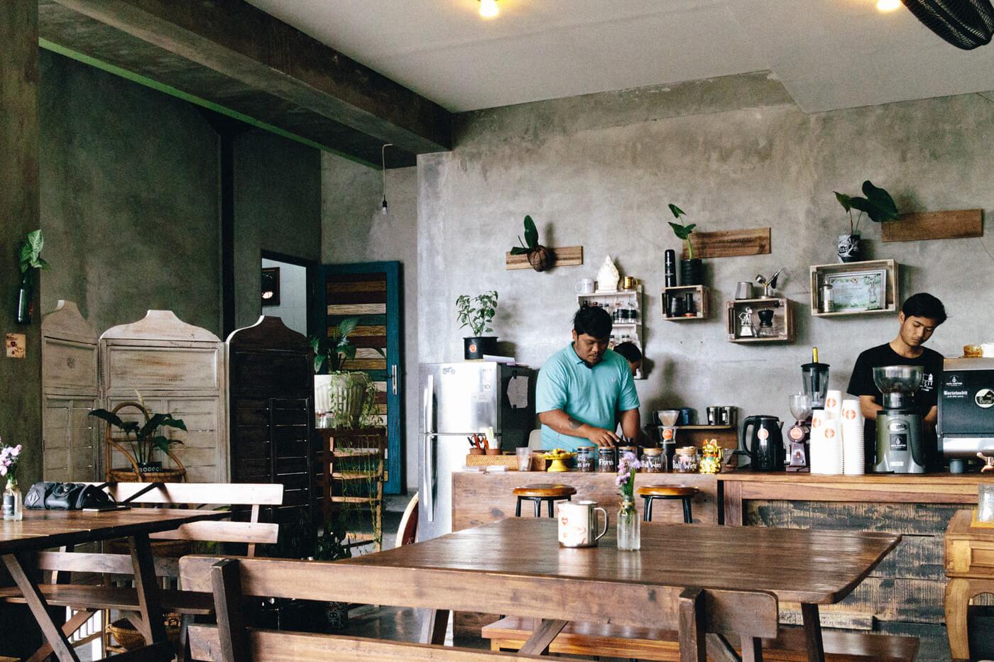 Jaya Coffee Roastersの店内