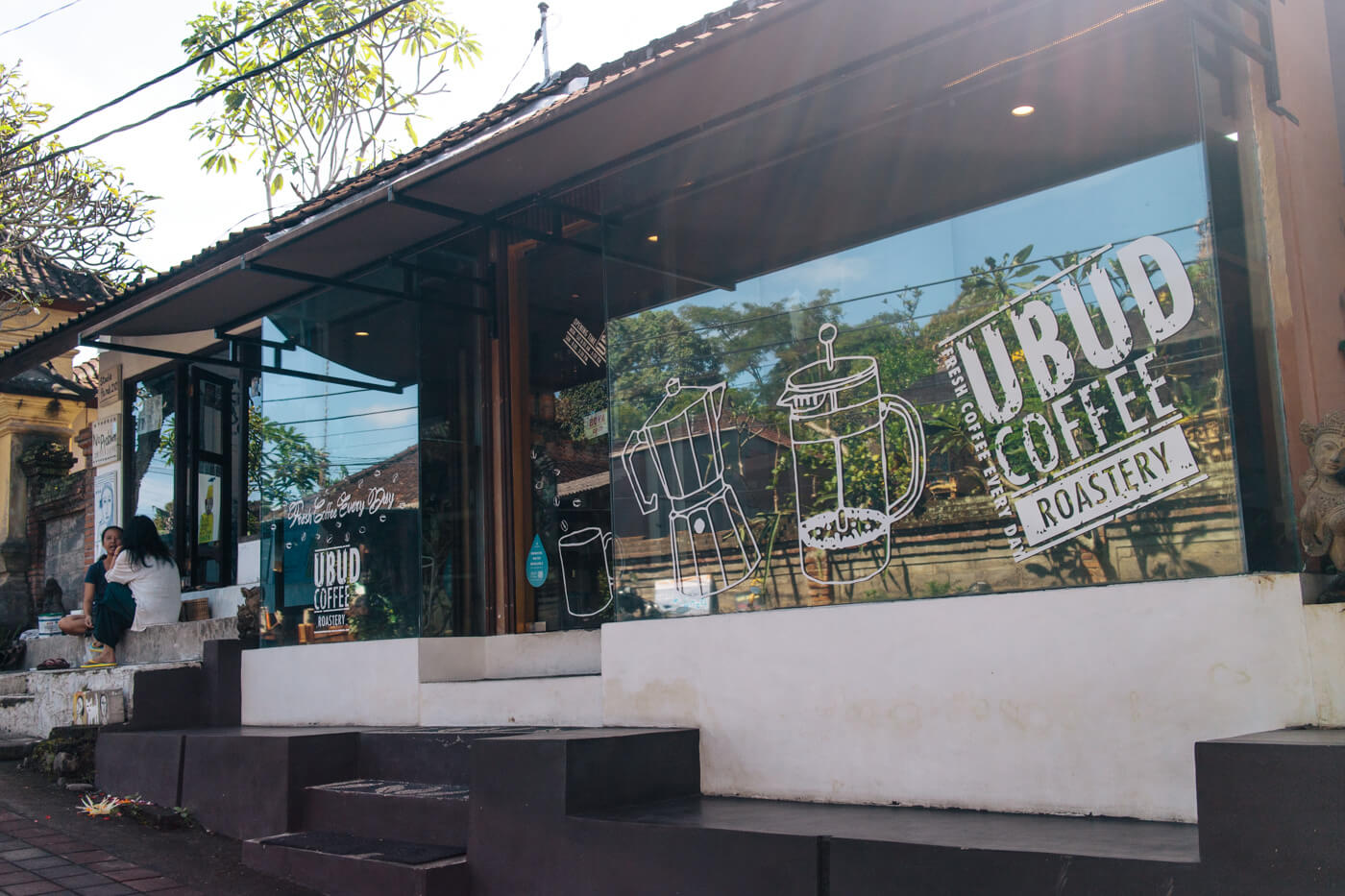 Ubud Coffee Roasteryの外観