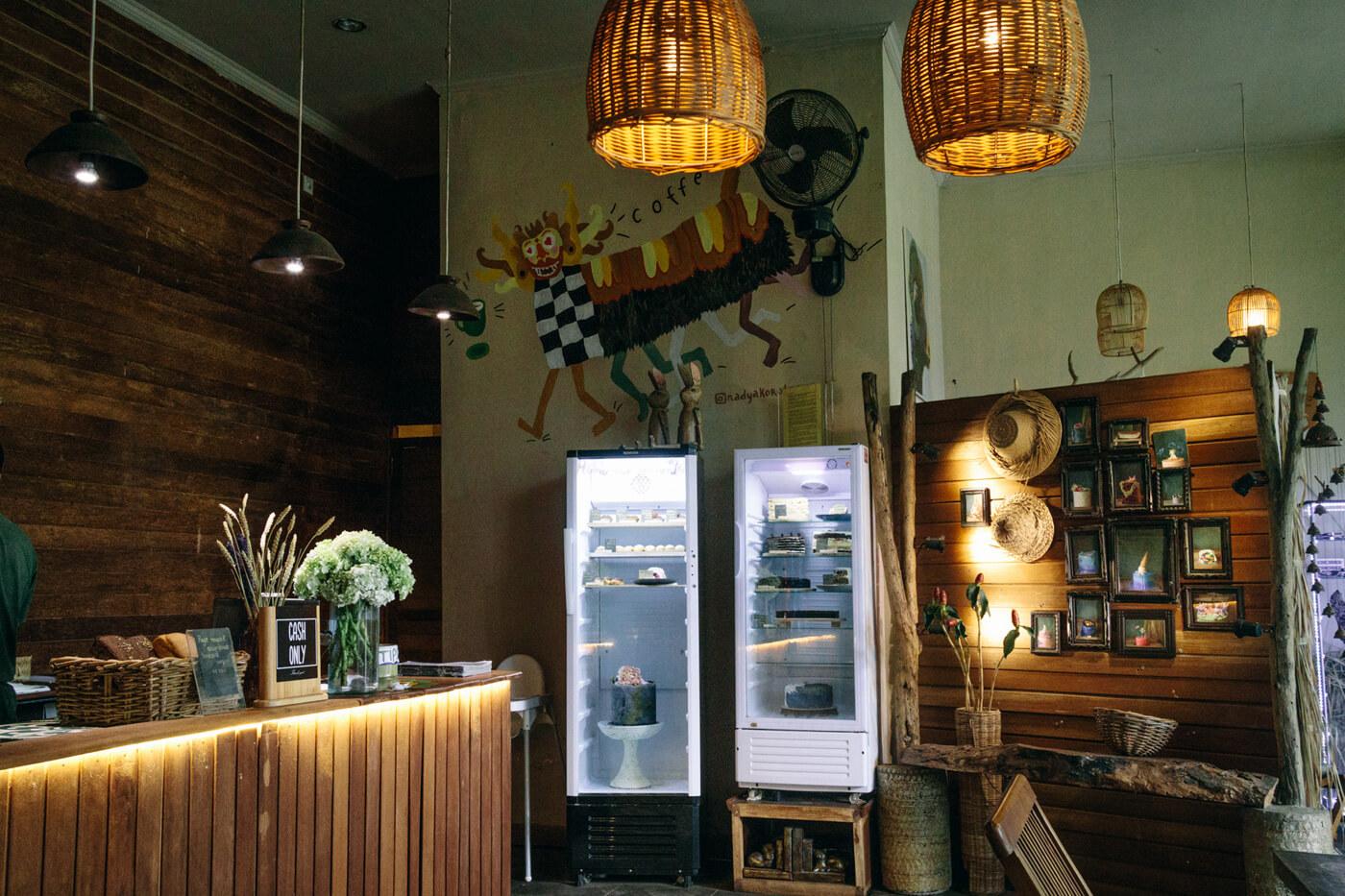 Usha Cafeは比較的いつでも空いている穴場カフェ