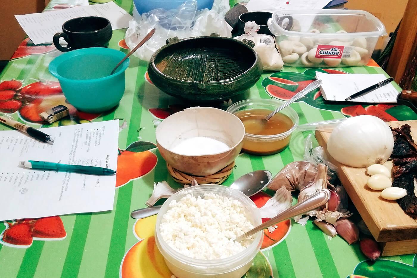全てイチから準備するメキシコ料理教室